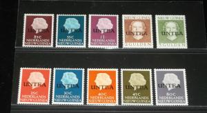 UNTEA, 1962, COLLECTION OF MNH,MIX OF 1st & 2nd PRINT,STAMPS, NICE!!! LQQK!!!