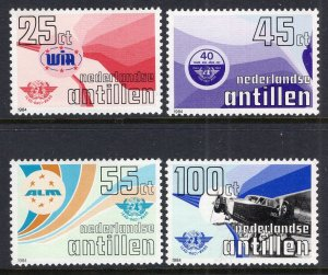Netherlands Antilles 508-511 MNH VF