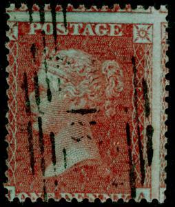 SG17 SPEC C6(3), 1d brick-red PL 20, SC16 DIE I, USED. Cat £100.