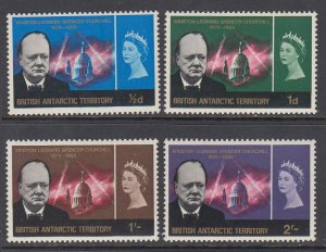 British Antarctic Territory 16-19 Churchill MNH VF