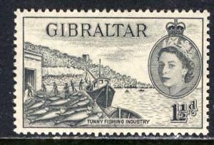 Gibraltar; 1953: Sc. # 134: */MH Single Stamp