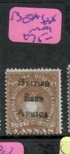 BRITISH EAST AFRICA (P1205B)  ARMS BEA OVPT  4A   SG 38   MOG