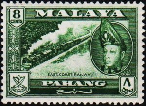 Malaya(Pahang). 1957 8c S.G.79 Mounted Mint
