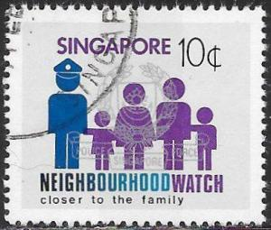 Singapore 420 Used - ‭Neighborhood Watch Safety ‭Campaign - Family