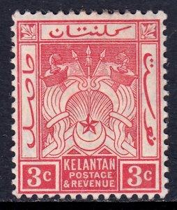 Malaya (Kelantan) - Scott #2 - MH - SCV $5.00