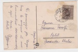 Slovakia Zagreb Cancel with Zagreb Panarama Picture Stamps Card ref R 18056