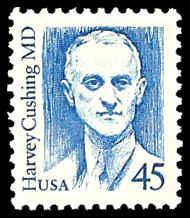 PCBstamps  US #2188 45c Dr. Harvey Cushing, bright blue, MNH, (8)
