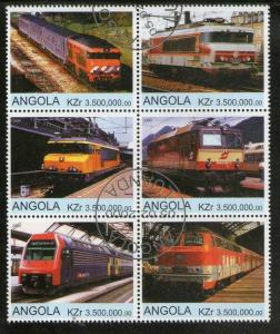 Angola Used Block Of 6 Electric Locomotives 2000