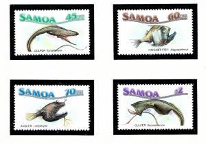 Samoa 692-95 MNH 1987 Marine Life