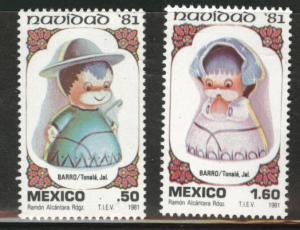 MEXICO Scott 1252-53 MNH** 1981 Christmas set