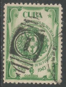 CUBA 394 VFU N527-1