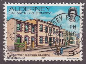 Alderney 3  States Buildings 1983