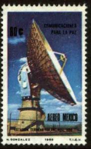MEXICO C371 Inst ground station satellite communications MINT, NH. F-VF.