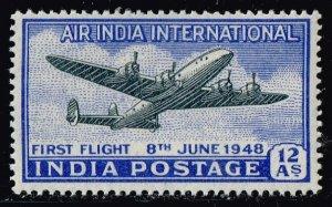 INDIA STAMP 1948 Air. Inauguration of India-U.K. Service MNH/OG
