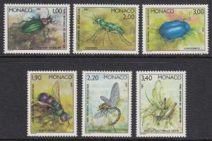 Monaco 1565-70 Insects mnh