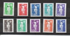 Mayotte 75-84 MNH