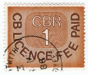 (I.B) Elizabeth II Revenue : CB Radio Licence Fee £10