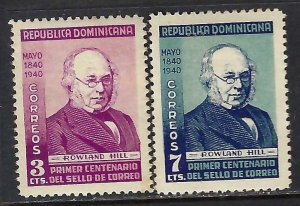 Dominican Republic 356-57 MOG S179-1