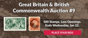 The 9th Great Britain & Commonwealth Auction