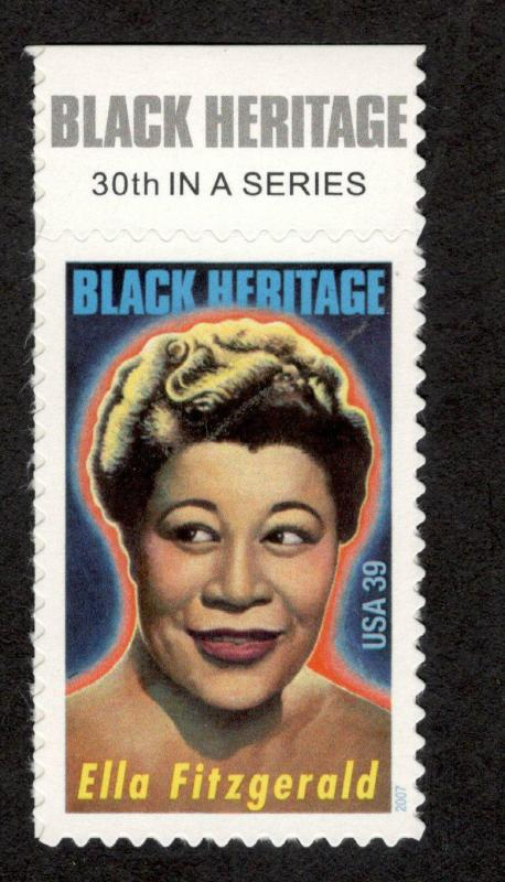 4120 Ella Fitzgerald Single With Top Label Mint/nh FREE SHIPPING