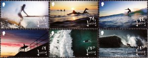 Jersey 2021 MNH Stamps Sport Surfing