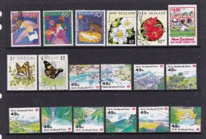 New Zealand a small decimal lot used