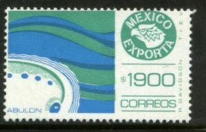 MEXICO Exporta 1597 $1900P Abalone Fluor Paper 13 MNH