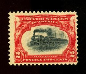 U.S. #295 MINT F-VF OG LH Cat $15