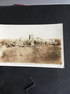 Actual Photo Card THE CAMPUS.TORONTO UNIVERSITY - Circa 1919-25 -A game going on