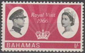 Bahamas #229  MNH F-VF CV $2.50 (SU596)