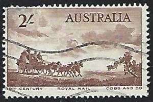 Australia #282 Used Single Stamp (U1)