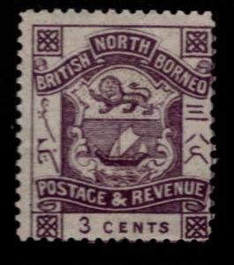 North Borneo Scott 38 MH* per 14