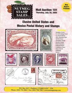 Nutmeg Stamp Sales - Elusive United States and Mexico Pos...