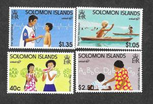 Solomon Islands 838-841 Mint NH MNH!