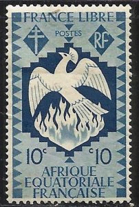 French Equatorial Africa 1941 Scott# 143 MH