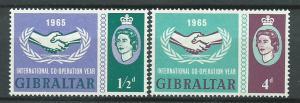 Gibraltar  SG 182 - 183 set  MVLH