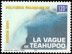 French Polynesia #803, Complete Set, 2001, Never Hinged
