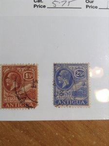Antigua  # 47/49  Used