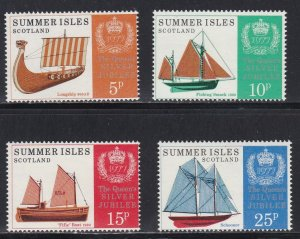 Summer Isles - Scotland, Sailing Ships & The Queen's Silver Jubilee, NH
