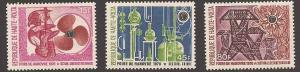 Burkina Faso 222-224 Mint VF LH