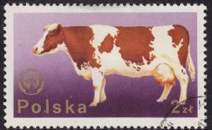 Poland 2100 USED 1975 Dairy Cow 2.00zł