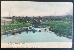 1904 Liverpool England Picture Postcard Cover To London Bridge Bootle Park