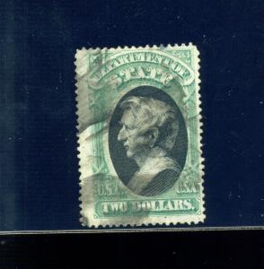 Scott #O68 STATE Dept Hi Value Official Used Stamp (Stock #O68-6)
