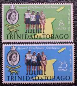 Trinidad & Tobago #103-104 mnh
