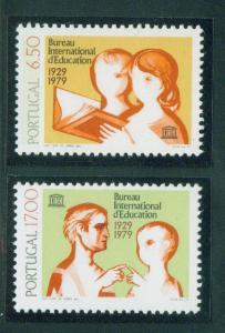 Portugal Scott 1433-4 MNH** 1979 Unesco Stamp set