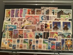 Philippines 1985-1988   mixed stamps  R26174