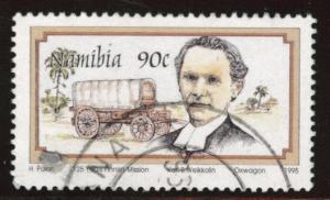Nambia Scott 785 Used Oxwagon stamp 1995