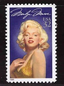 USA Scott 2967 MNH** Marilyn Monroe stamp