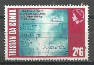 TRISTAN DA CUNHA, 1968, MNH 2sh6p, Dependency of St.Helena Scott 123
