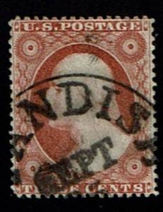 Scott #25 VF-used SCV - $175.00
